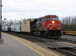 CN 2235 leading through Cobourg.
